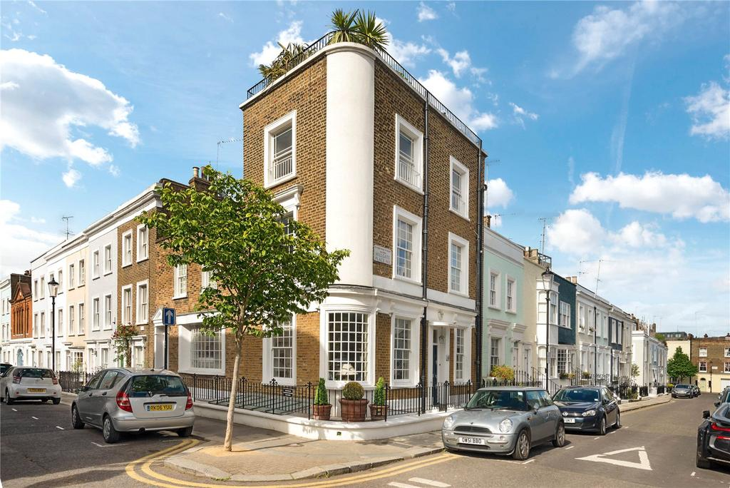 3 Bedrooms House for sale in Hillgate Street, Kensington, London