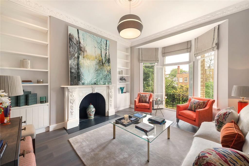 2 Bedrooms Flat for sale in Elm Park Gardens, London