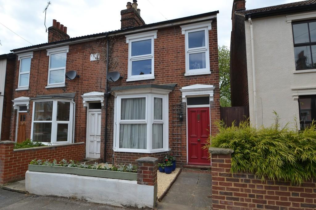 2 Bedrooms Semi Detached House for sale in Lacey Street, Ipswich, Suffolk