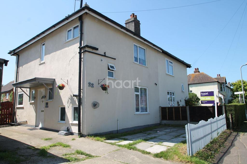 3 Bedrooms Semi Detached House for sale in Elm Road, Shoeburyness