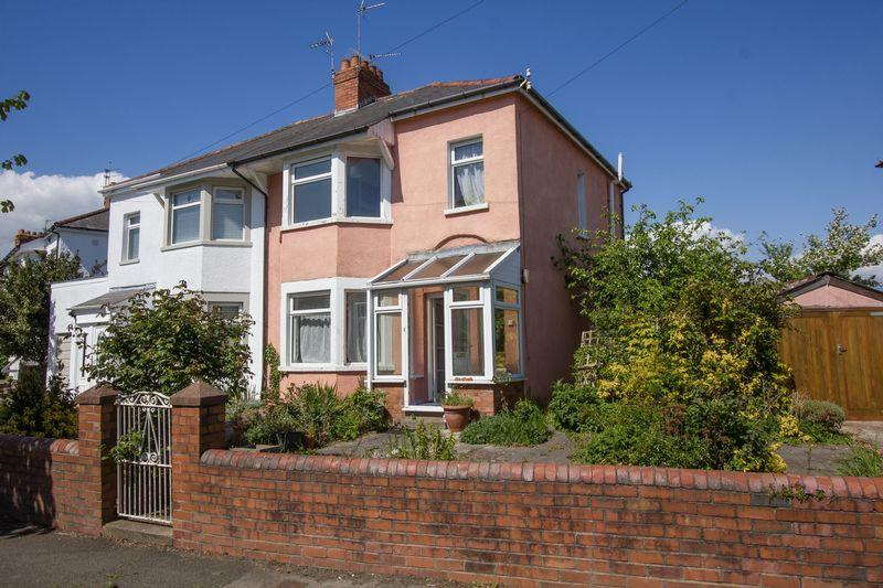 3 Bedrooms Semi Detached House for sale in Coleridge Avenue, Penarth