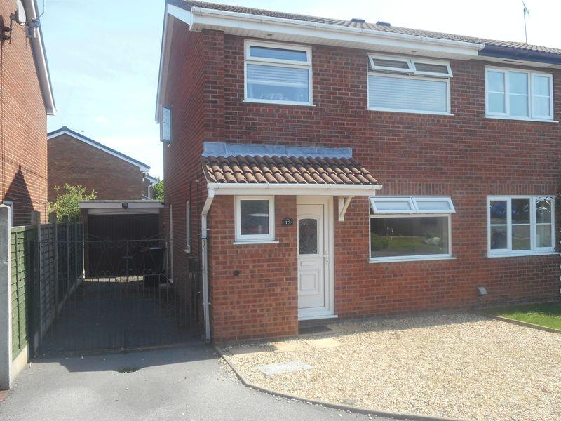 3 Bedrooms Semi Detached House for sale in Blackthorn Grove, Nuneaton