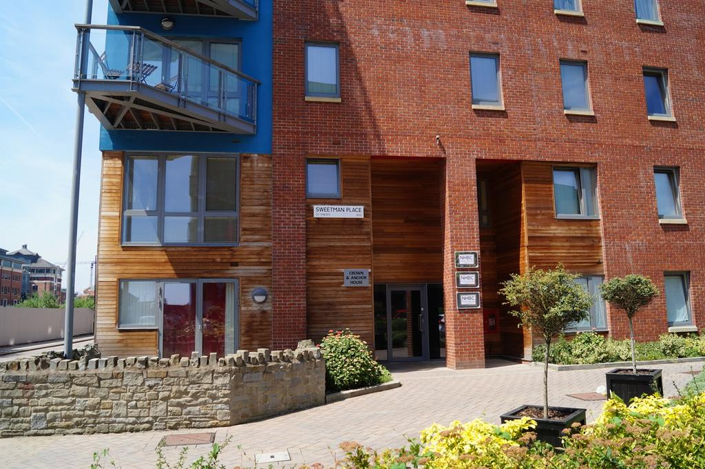1 Bedroom Apartment Flat for sale in Sweetman Place, Temple Quay, Bristol, BS2