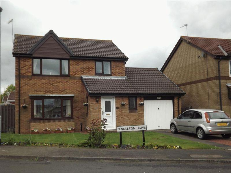 3 Bedrooms Detached House for sale in Pendleton Drive, Cramlington