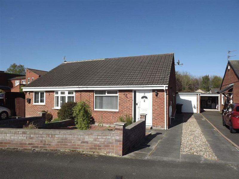 2 Bedrooms Semi Detached Bungalow for sale in Kirklands, Burradon