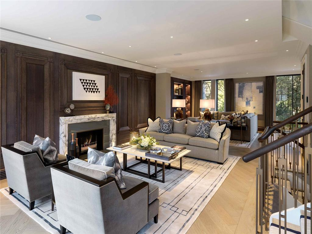 5 Bedrooms Terraced House for sale in Knighton Place, Knightsbridge, London, SW3