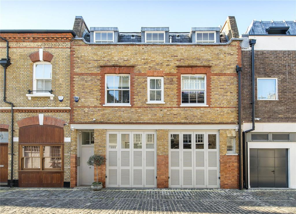 3 Bedrooms Mews House for sale in Wimpole Mews, London, W1G