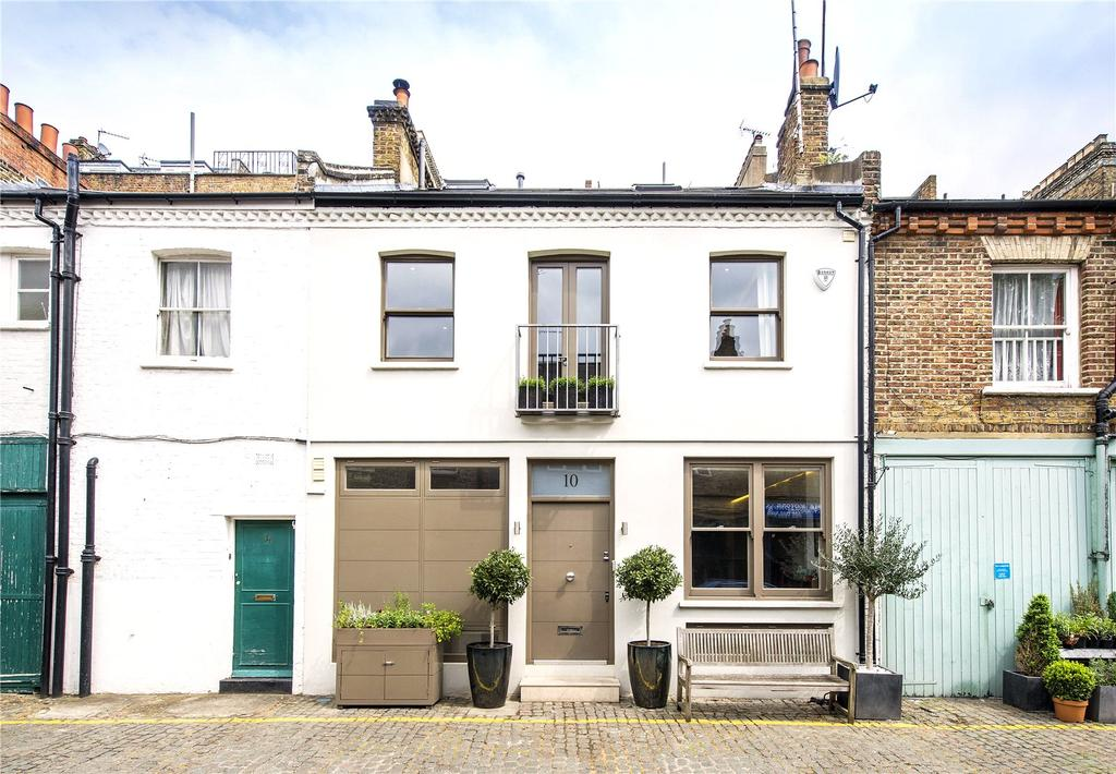 4 Bedrooms Mews House for sale in Russell Gardens Mews, Kensington, London, W14