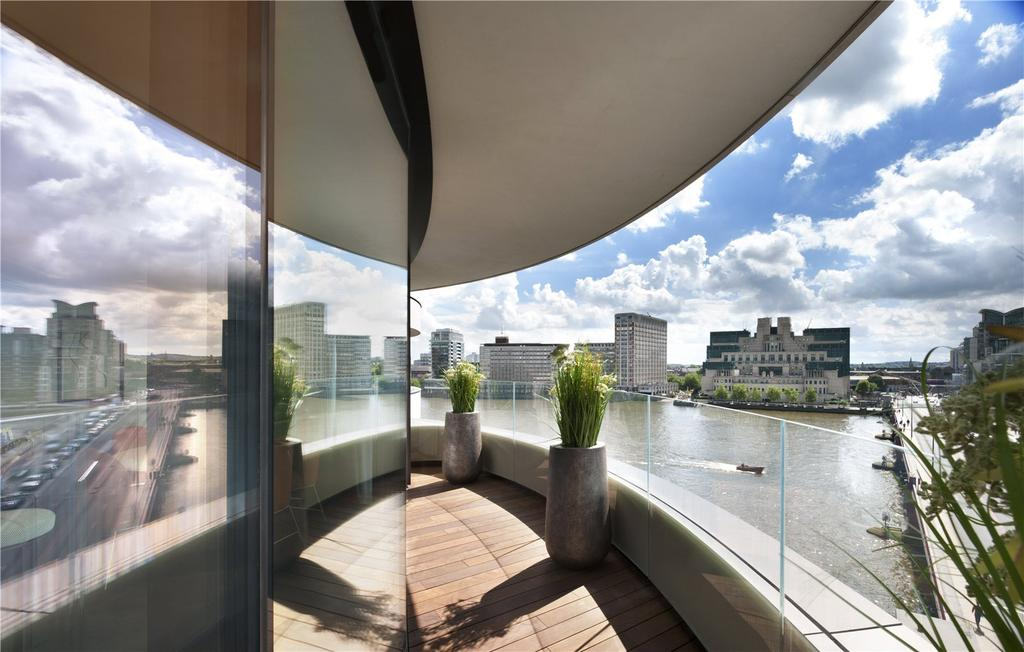 3 Bedrooms Flat for sale in Riverwalk, 161 Millbank, London, SW1P