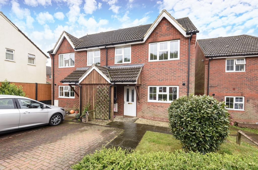 3 Bedrooms Semi Detached House for sale in Nappers Wood, Fernhurst, Haslemere, GU27