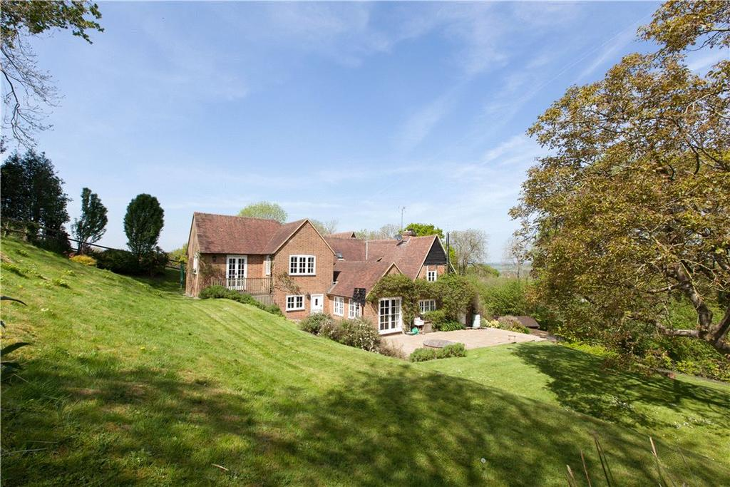 5 Bedrooms Detached House for sale in Blandys Hill, Kintbury, Hungerford, Berkshire, RG17
