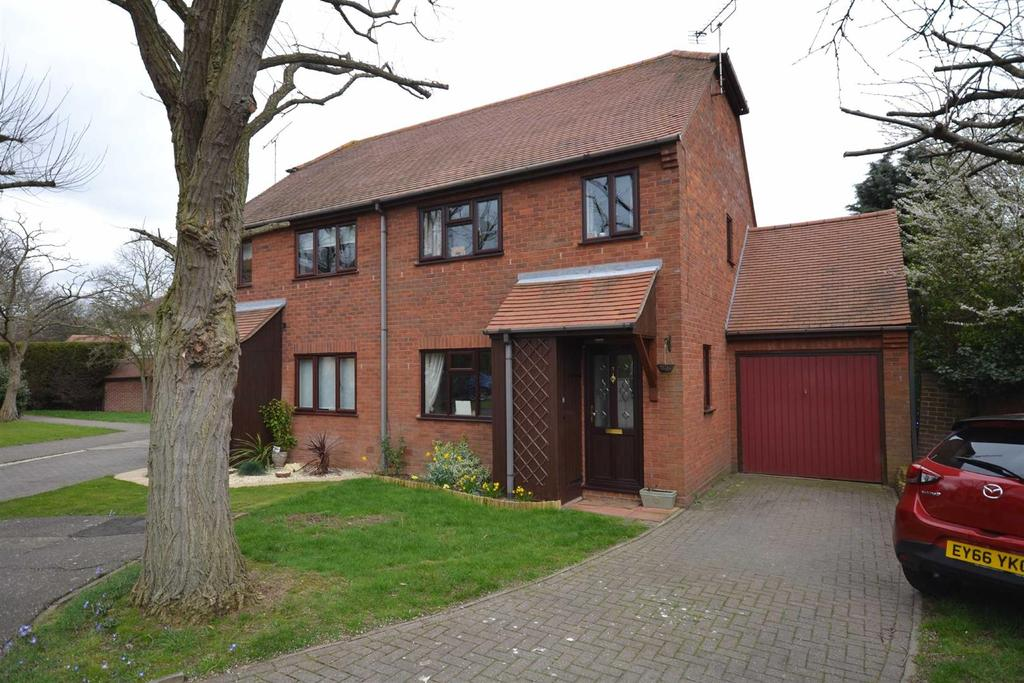 3 Bedrooms Semi Detached House for sale in Charlotte Court, South Woodham Ferrers