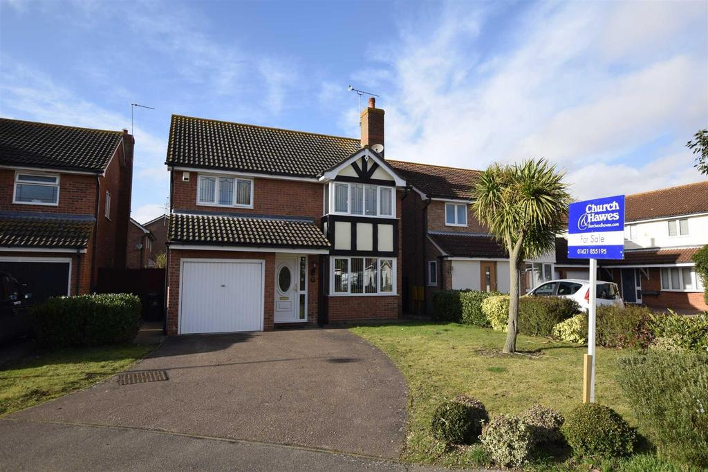 4 Bedrooms Detached House for sale in Chichester Way, Maldon
