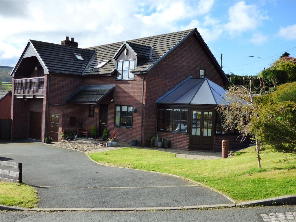 4 Bedrooms Detached House for sale in Grove Close, Knighton, Powys