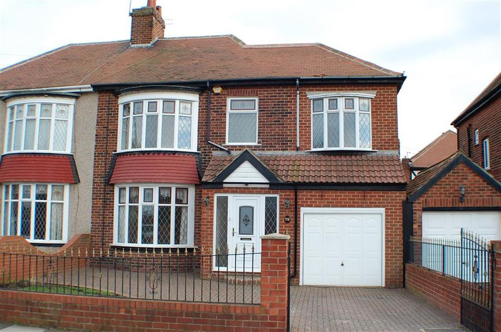 3 Bedrooms Semi Detached House for sale in Grosvenor Road, South Shields