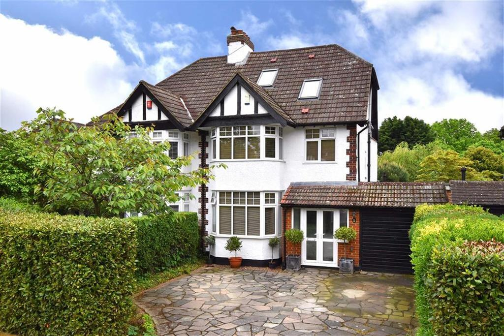 4 Bedrooms Semi Detached House for sale in Towncourt Crescent, Petts Wood, Kent