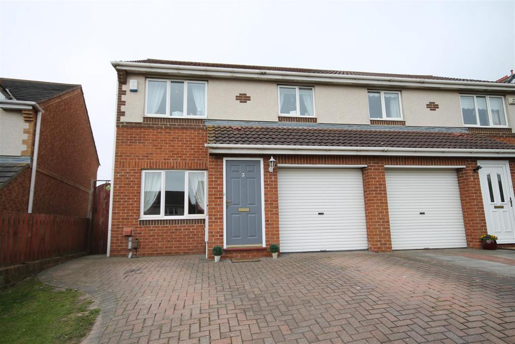 3 Bedrooms Semi Detached House for sale in Falcon Road, Bishop Cuthbert, Hartlepool