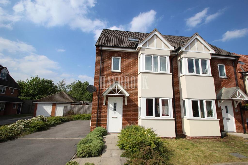 3 Bedrooms Semi Detached House for sale in Kingfisher Mews, Wombwell