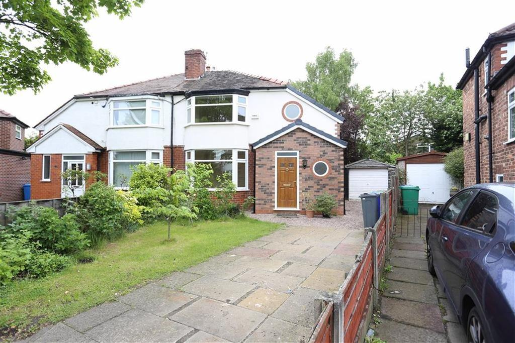 3 Bedrooms Semi Detached House for sale in Kingsfield Drive, Didsbury, Manchester