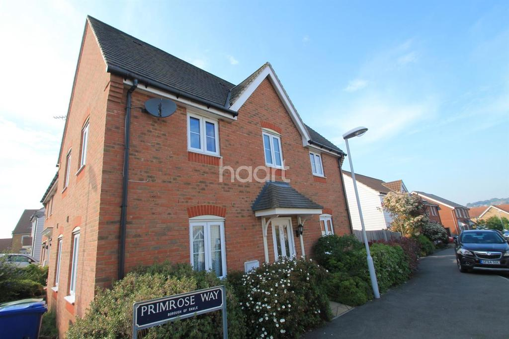 3 Bedrooms End Of Terrace House for sale in Primrose Way, Minster
