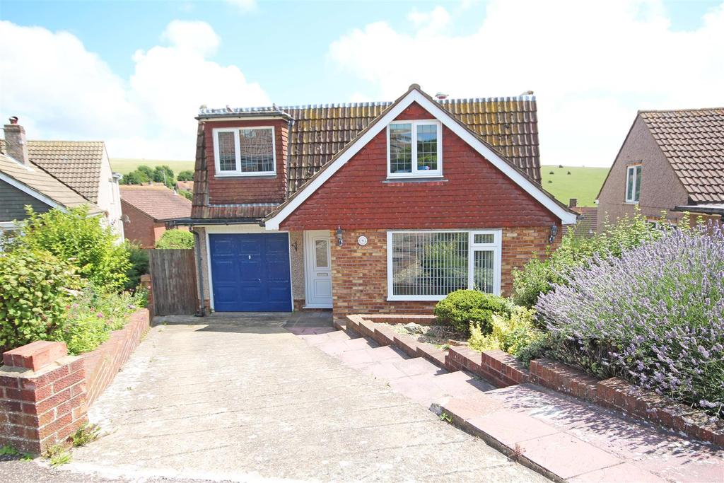 4 Bedrooms Detached House for sale in Frimley Close, Woodingdean, Brighton