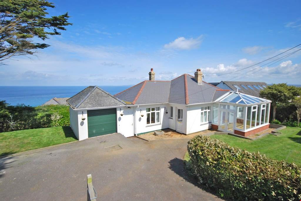3 Bedrooms Detached Bungalow for sale in St Ives, West Cornwall, TR26