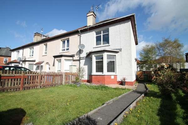 2 Bedrooms End Of Terrace House for sale in 48 Talbot Drive, Scotstounhill, Glasgow, G13 3RR