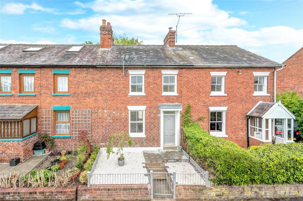 3 Bedrooms Terraced House for sale in Belle Vue Terrace, Ludlow, Shropshire
