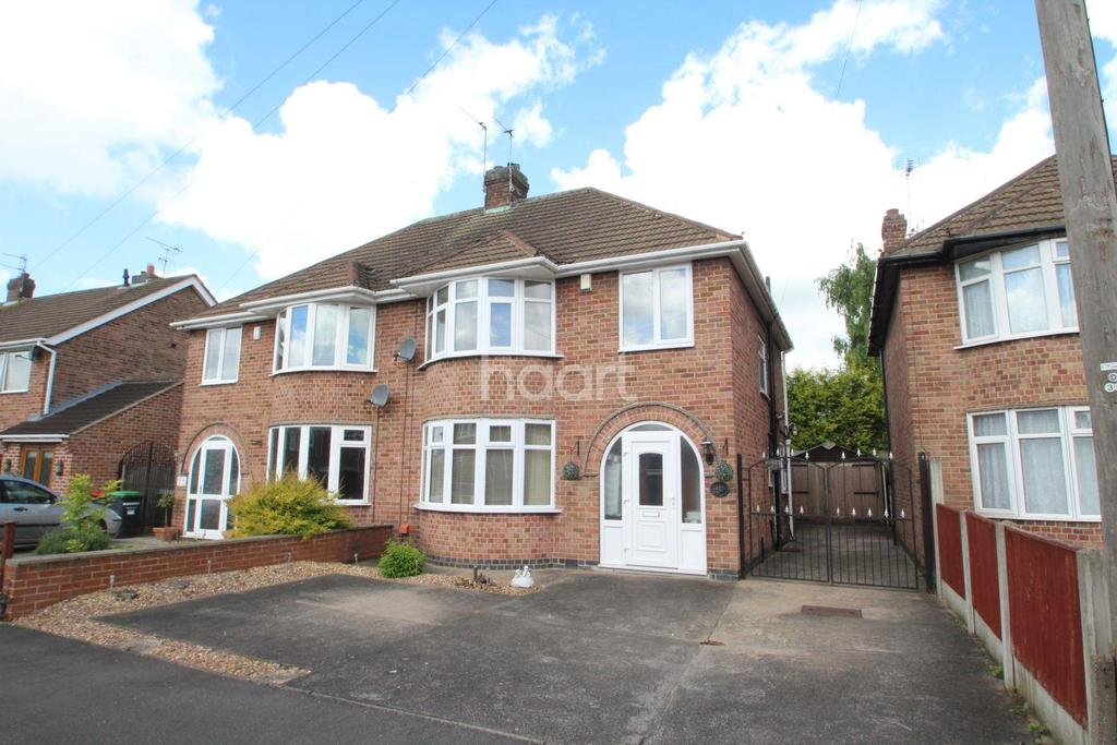 3 Bedrooms Semi Detached House for sale in Royce Avenue, Hucknall