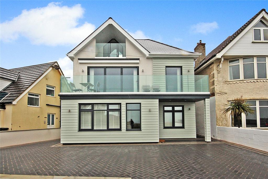 4 Bedrooms Detached House for sale in Southbourne Overcliff Drive, Bournemouth, Dorset, BH6