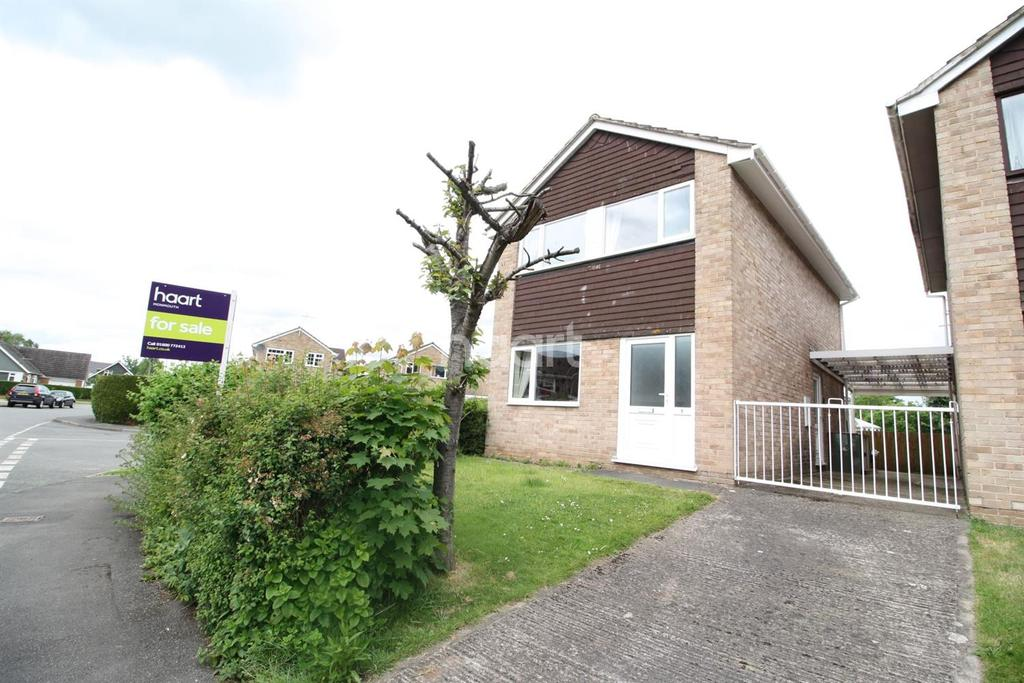 3 Bedrooms Detached House for sale in Elstob Way, Monmouth, Monmouthshire