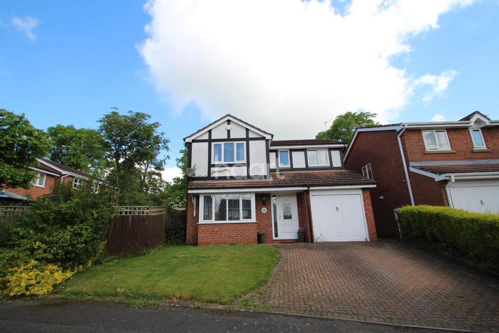 4 Bedrooms Detached House for sale in Badger Close, Hucknall