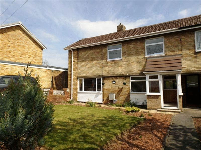 2 Bedrooms Semi Detached House for sale in West View, Pegswood