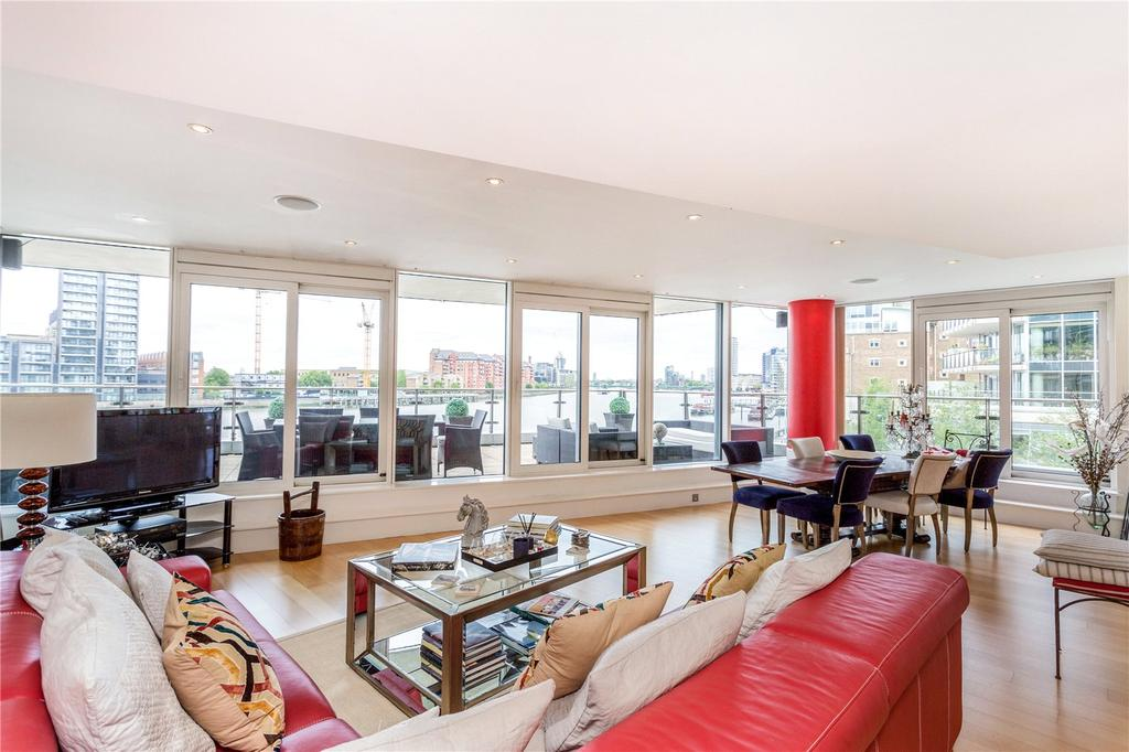 3 Bedrooms Flat for sale in Kingfisher House, Juniper Drive, London, SW18