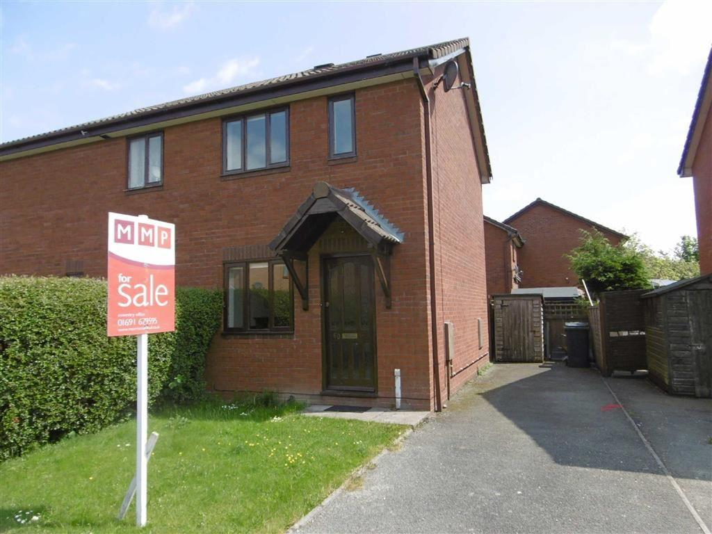 1 Bedroom End Of Terrace House for sale in 60, Smale Rise, Oswestry, Shropshire, SY11