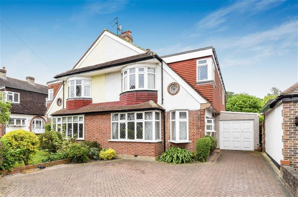 4 Bedrooms Semi Detached House for sale in Chadacre Road, Stoneleigh, Surrey