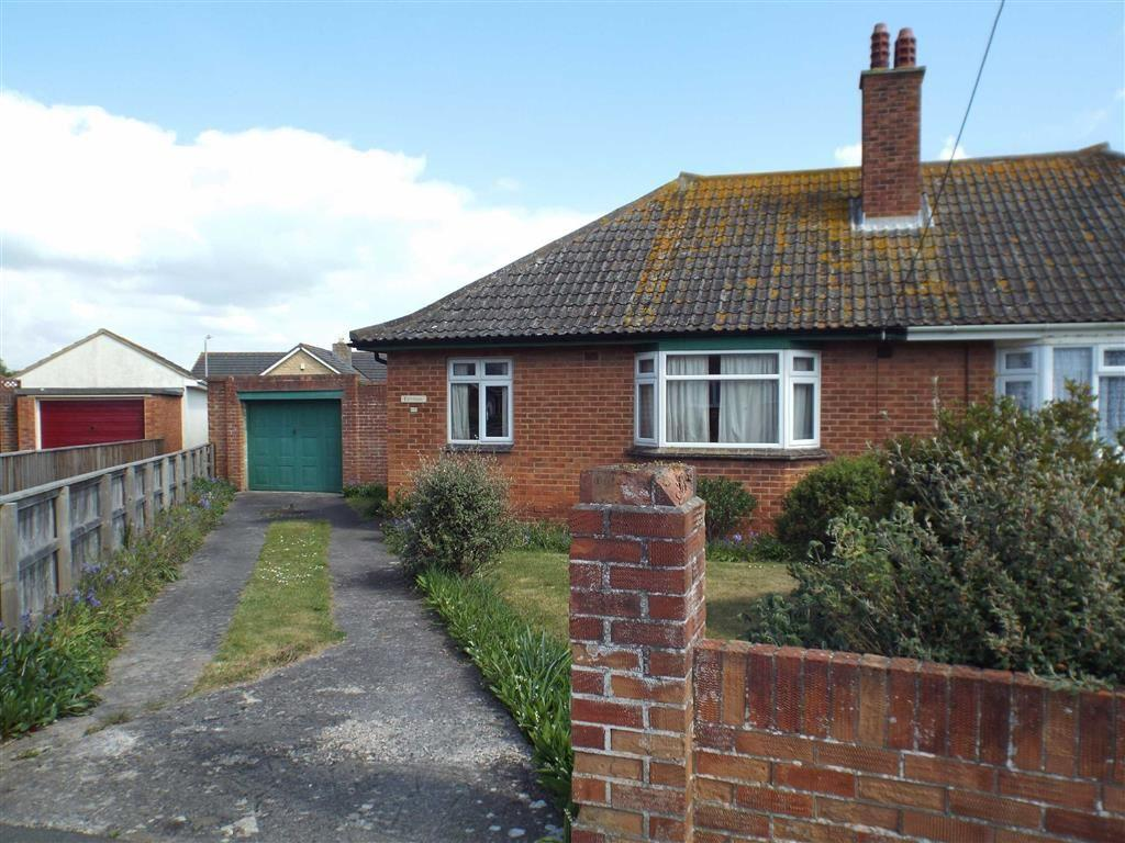 2 Bedrooms Semi Detached Bungalow for sale in Margaret Crescent, Burnham-on-Sea