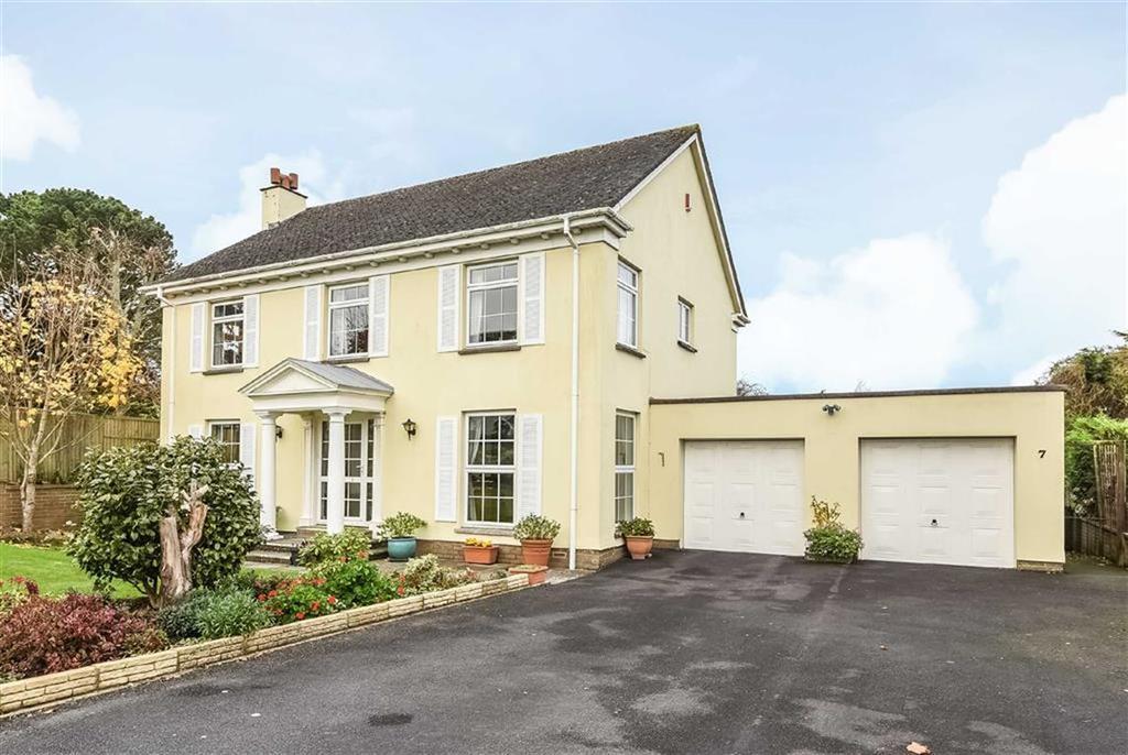 4 Bedrooms Detached House for sale in Higher Cross Road, Bickington, Barnstaple, Devon, EX31
