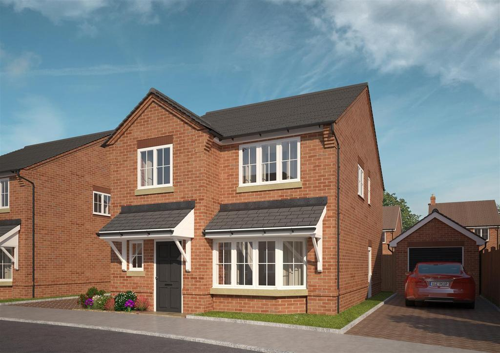 4 Bedrooms Detached House for sale in Elm Drive, Halesowen, West Midlands
