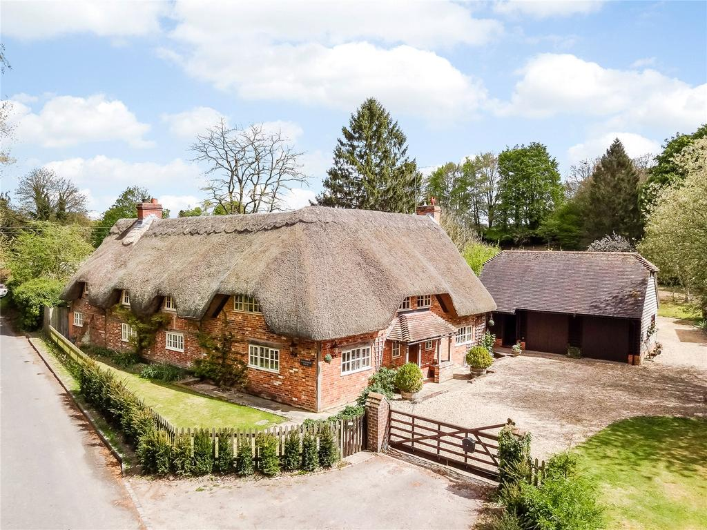 4 Bedrooms Detached House for sale in Farley Street, Nether Wallop, Stockbridge, Hampshire