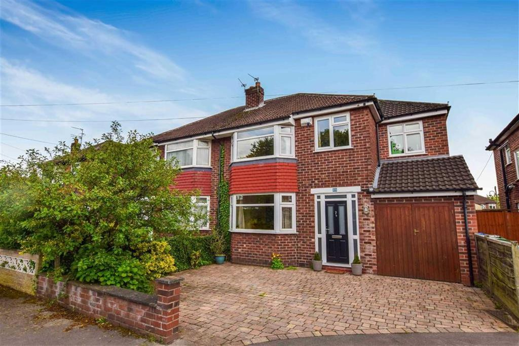 4 Bedrooms Semi Detached House for sale in Bradley Close, Timperley, Cheshire, WA15
