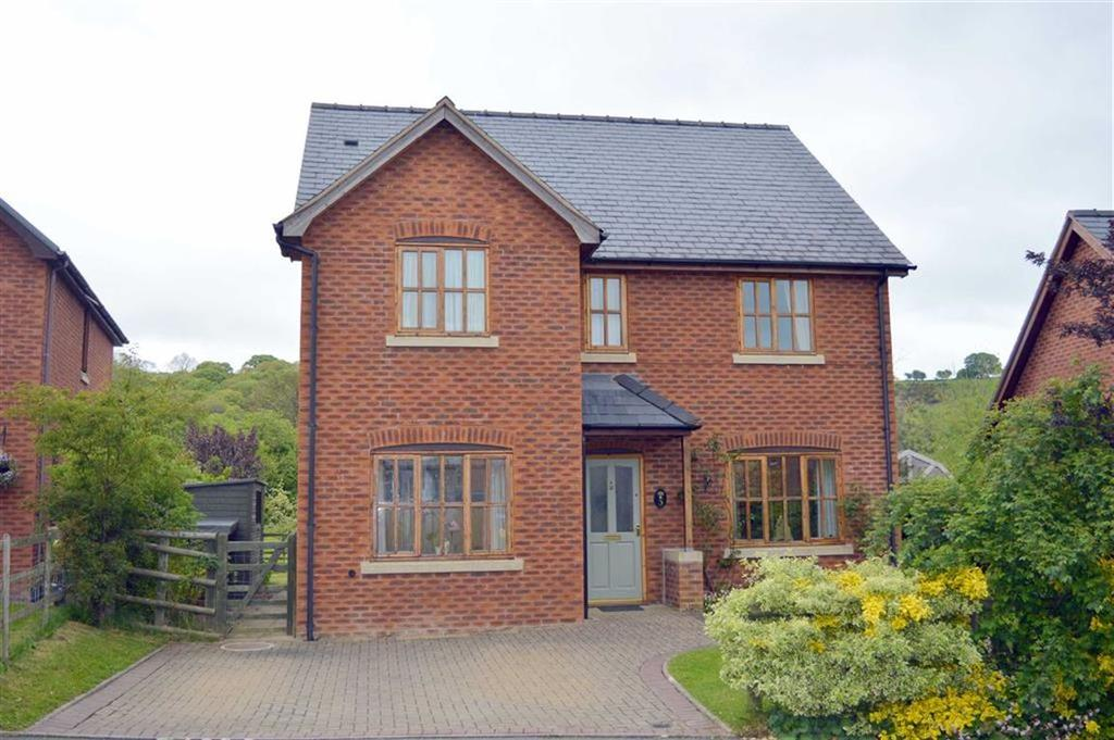 4 Bedrooms Detached House for sale in 5, Parc Hafod, Tregynon, Newtown, Powys, SY16
