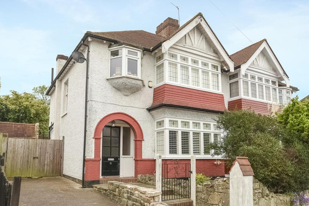 3 Bedrooms Semi Detached House for sale in Oaks Avenue, Crystal Palace, SE19