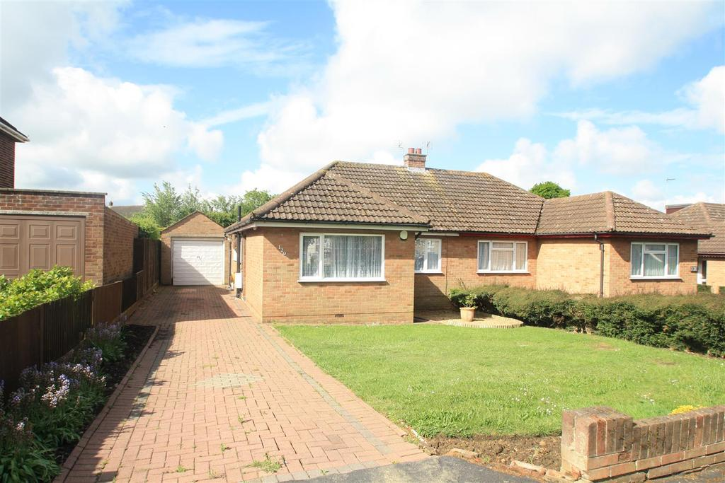 2 Bedrooms Semi Detached Bungalow for sale in Shenley Road, Bletchley, Milton Keynes