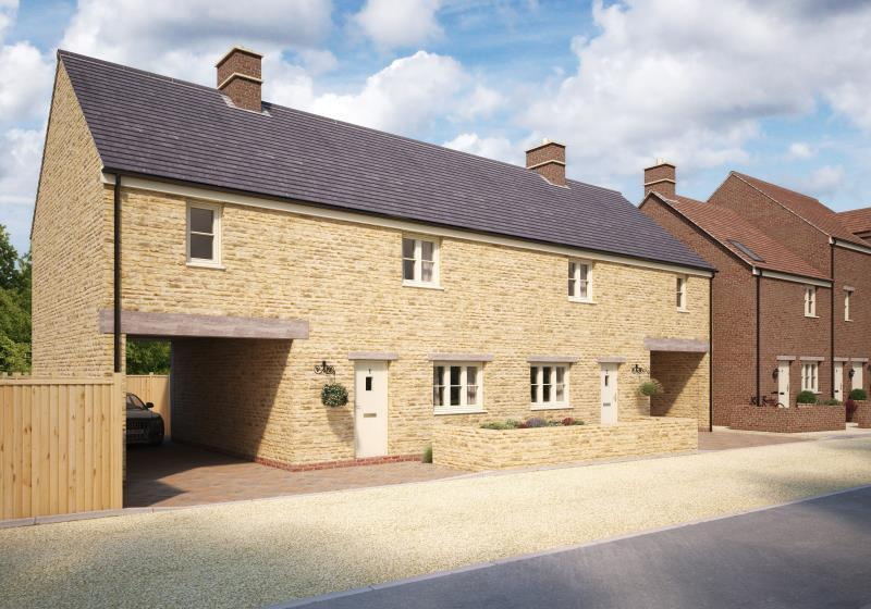 3 Bedrooms Semi Detached House for sale in Plot 16 The Old Printworks, Longwall, Brackley, Northamptonshire