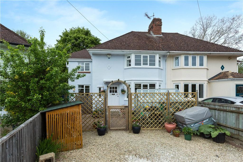 4 Bedrooms Semi Detached House for sale in Rosamund Road, Wolvercote, Oxford, Oxfordshire, OX2
