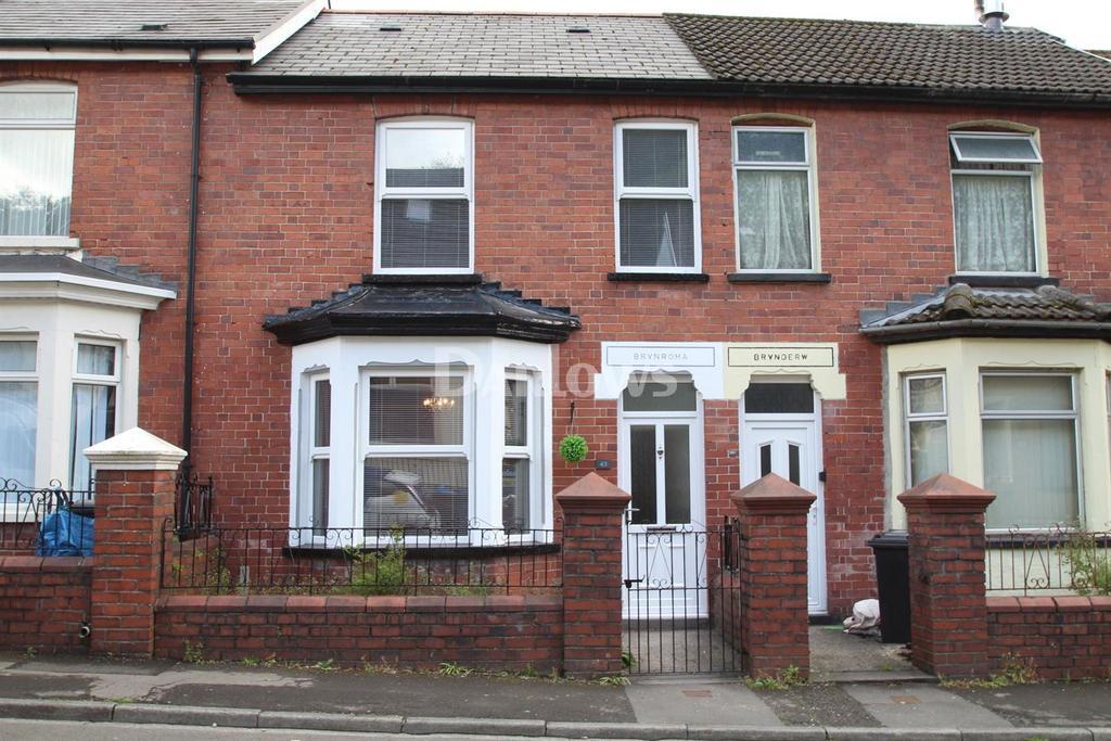 3 Bedrooms Terraced House for sale in Moy Road Aberfan
