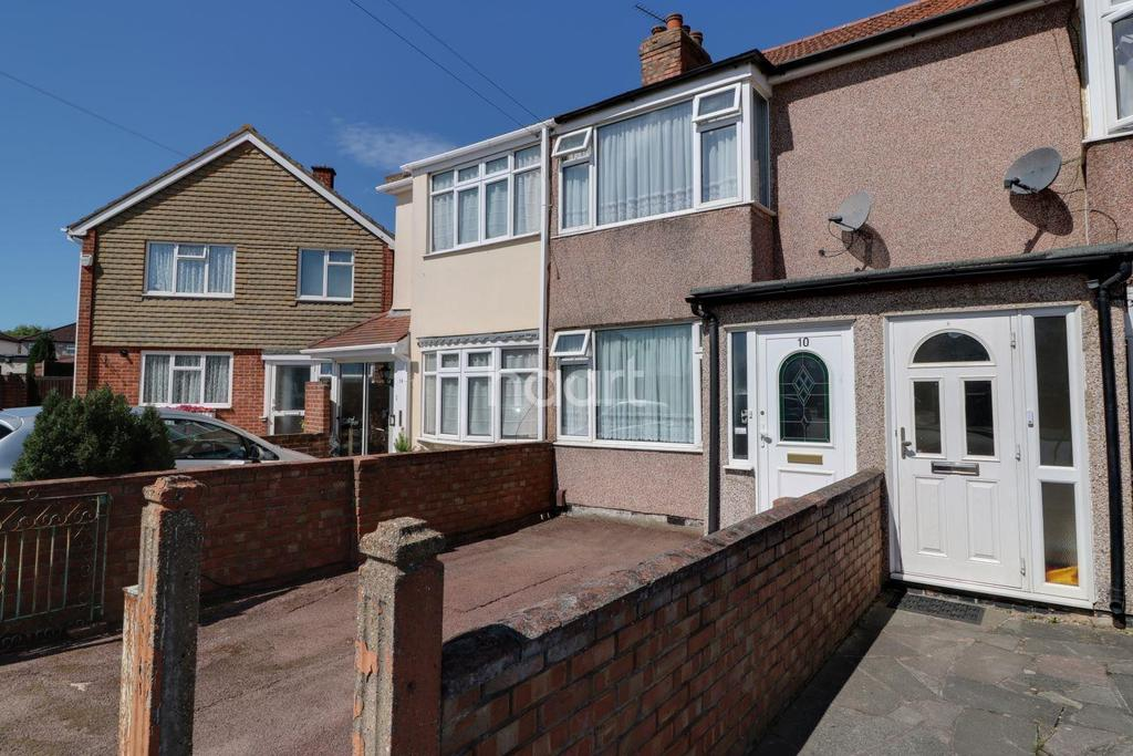 2 Bedrooms Terraced House for sale in Floriston Avenue, Hillingdon