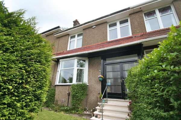 3 Bedrooms Terraced House for sale in 18 Winchester Drive, Kelvindale, Glasgow, G12 0NE