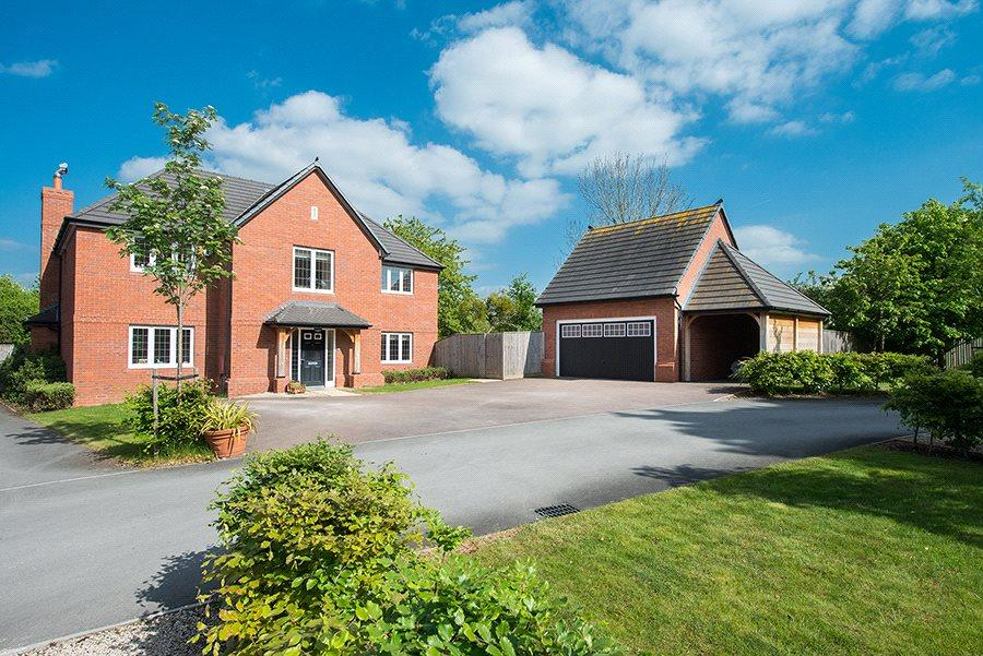 5 Bedrooms Detached House for sale in Orchard Close, Welland, Malvern, Worcestershire, WR13